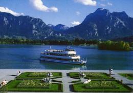 03904 -  Motorschiff FÜSSEN Auf Dem Forggensee - Autres