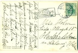 Geprüft Überwachungsstelle Konstanz XIV Armeekorps + GAIENHOFEN (AMT KONSTANZ) 1915 AK Broge - Deutschland