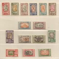 ETHIOPIE  ( D16 - 6811 )  1919   N° YVERT ET TELLIER    N°  117/131  N** - Äthiopien