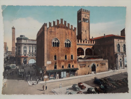 740 - Cartolina Bologna Palazzo Re Enzo Vg 1954 Francobollo Ediz.Cartovendita Postcard Carte Postale - Bologna