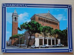 740 - Cartolina Argenta (Ferrara) Chiesa S.Nicolò Nv Ediz.Mazzanti Postcard Carte Postale - Altre Città