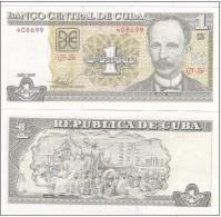 Cuba - 1 Peso 2009 UNC  Ukr-OP