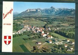 Cpsm Gf  -  Larringe  Vue Générale Aérienne Et La Dent D'oche - Lfv 87 - Autres Communes