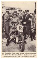 Original Zeitungsausschnitt - 1929 - Ernst Henne Beim Eisrennen In Oeslersum , BMW , Schweden !!! - Motorräder