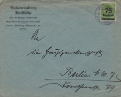 Germany; Infla Cover - Sept. 15, 1923 - Lettres & Documents