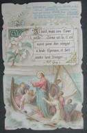 IMAGE PIEUSE Chromo Vers 1900: LES DISCIPLES DE JESUS  / HOLY CARD / SANTINI - Images Religieuses