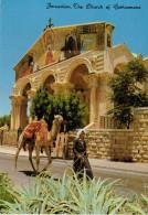 JERUSALEM      THE CHURCH  OF  GETHSEMANE          (VIAGGIATA) - Cartoline