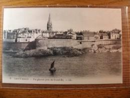 Carte Postale Saint Malo Vue Générale Prise Du Grand Bey - Saint Malo