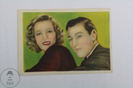 Old Trading Card/ Chromo Topic/ Theme Cinema/ Movie - Actor: Gary Cooper - Otros