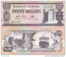 Guyana - 20 Dollars 2012 UNC Ukr-OP - Guyana