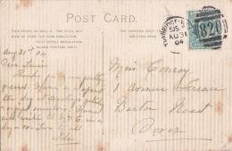 P/HISTORY -  1904 DUPLEX CANCELLATION-TUNBRIDGE WELLS - Postmark Collection