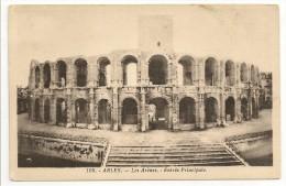 13 - ARLES - Les Arènes - Entrée Principale  - éd. J. George N° 108 - Arles