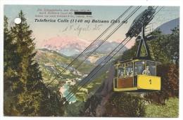 TELEFERICA COLLE (1140m) BOLZANO(265m)15/04/1925 - Bolzano (Bozen)