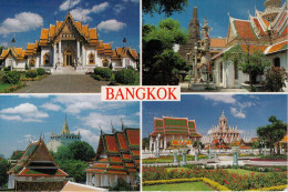 THAILAND    BANGKOK  MULTIVEDUTE                  (VIAGGIATA) - Tailandia