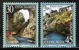 CEPT 2001 YU MI 3031-32 YUGOSLAVIA - Europa-CEPT
