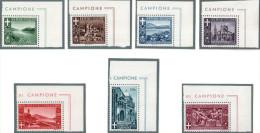 CAMPIONE D´ITALIA: SERIE COMPLTA S3 ** (MNH) - 9. WW II Occupation (Italian)