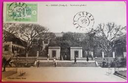 Cpa Sénégal Dakar Secrétariat Général Carte Postale Afrique - Senegal