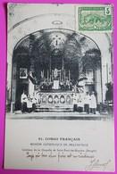 Cpa Congo Intérieur De La Chapelle De Saint Paul Des Rapides Banghi Carte Postale 1905 Mission Catholique De Brazzaville - Brazzaville