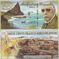 Kerguelen - 200 Francs 2010 UNC  Ukr-OP - Banknotes