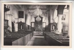 BEYNES 78 - Intérieur De L'Eglise - CPA CPSM Photo Glacée - Yvelines - Beynes