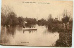 DEP 36 BUANCAIS LES BORDS DE L'INDRE CANOTAGE - France