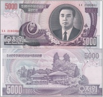 Korea North - 5000 Won 2006 UNC Ukr-OP - Korea, North