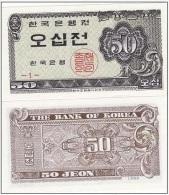 Korea South - 50 Jeon 1962 AUNC Ukr-OP - Korea (Süd-)