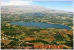 Lake Ram,Syria. Volcano Lake Postage Card 3268-16 - Postkaarten