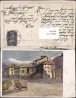 389369,Künstler Ak Karl M. Schuster Proviantur In Persen Suganatal WW1 Kriegsfürsorge - Guerre 1914-18