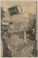 07 - LE POUZIN - INONDATIONS DES 8 ET 9 OCTOBRE 1907 - LES RUINES DE L´HOTEL DU LOUVRE - Le Pouzin