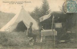 Campement Militaire Au Sommet Du Montoncel - France