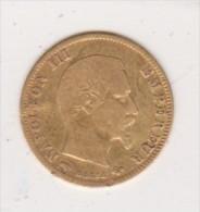 5 Francs Or   Napoléon III Empereur Tête Nue  1857  A - Or