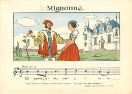 Chromos & Images - Illustrateurs - Mignonne - Doux Et Lié - Illustrateur R.G. - Au Foyer , Au Camp ,  Chantons ! - Oude Documenten
