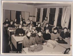 MOUSCRON-LYCEE-ROYAL-SOUVENIR DE L'ANNEE SCOLAIRE-1963-64-GRAND-PHOTO-ORIGINAL-DIMENSIONS-18-24 CM-BEAU DOCUMENT ! ! ! - Moeskroen