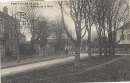 Saone Et Loire : Fontaines, Avenue De La Gare - Altri Comuni