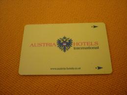 Austria International Hotel Room Key Card (Zipfer Beer) - Grecia