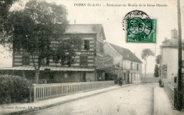 Yvelines POISSY Restaurant Du Moulin De La Reine Blanche  .........   - G - Poissy