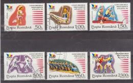 1995 -  Pre-olimpique Des Jeux D Atlanta Mi No 5147/5152 Et Yv No 4301A/4301F - 1948-.... Republics