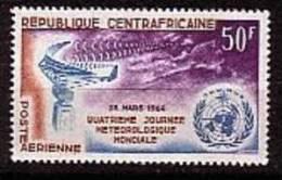 REP.CENTRAFRICAINE-1964-P .A.  N° 21** METEOROLOGIE - Zentralafrik. Republik