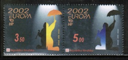 CEPT 2002 HR MI 610-11 CROATIA - 2002