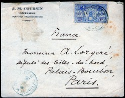 Nelles-HEBRIDES:  N°95 Sur LSC De 1930 - Brieven En Documenten
