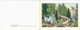 Gravure -  Dessin Original De L'Imagerie Pellerin à Epinal - Coloris Au Pochoir à La Main - Forêt Vosges Schlittage - Prints & Engravings