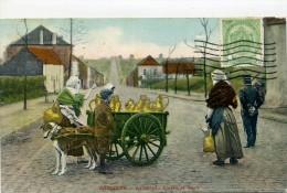 BELGIQUE - Laitières, Colère Et Dépot, Voiture à Chien - - Belgique