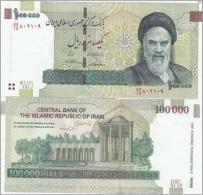Iran - 100000 Rials UNC  Ukr-OP - Iran