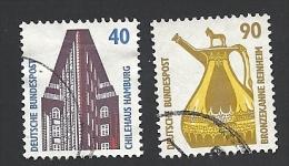 Deutschland, 1988, Mi.-Nr. 1379-1380, Gestempelt - Gebruikt