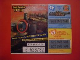 """BIGLIETTO LOTTERIA NAZIONALE ITALIA 2005 """" - Billetes De Lotería"""