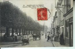 SAINT LEU TAVERNY Grande Rue Place Des Ecoles - Saint Leu La Foret