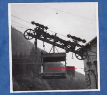 Photo Ancienne - Barrage Du Lac De La GIROTTE ( Haute Savoie ) - Beine Du Téléférique - 1947 - Hauteluce Queige Domelin - Métiers