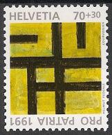 Suisse Schweiz Svizerra Switzerland Pro Patria 1991 Zumstein** No 232 - Ongebruikt