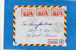 MARCOPHILIE- Lettre-Tchad  -cad- Benoye 1970-pour Françe-3 Stamp N° 163 Mission Bailloud - Tsjaad (1960-...)